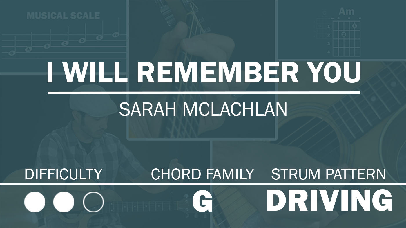 I Will Remember You Guitar Chords